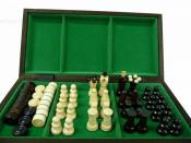 шахматы + шашки Малые №165-А