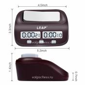шахматные часы электронные Leap PQ9907S