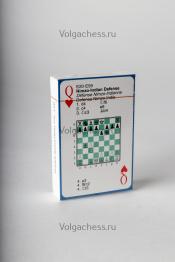Карты игральные шахматные